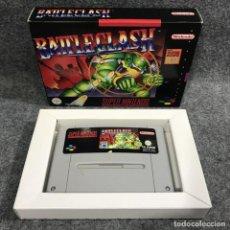 Videojuegos y Consolas: BATTLECLASH SUPER NINTENDO SNES. Lote 289938933
