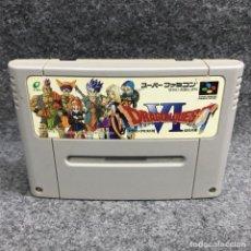 Videojuegos y Consolas: DRAGON QUEST VI JAP SUPER FAMICOM NINTENDO SNES. Lote 289938948