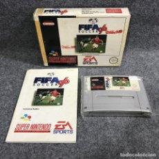 Videojuegos y Consolas: FIFA SOCCER 96 SUPER NINTENDO SNES. Lote 289938963