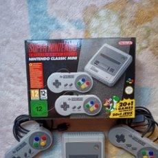 Videojuegos y Consolas: SÚPER NINTENDO MINI CON 160 JUEGOS. Lote 290682548