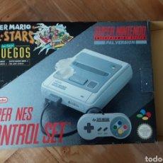 Videojuegos y Consolas: CONSOLA SUPERNINTENDO. Lote 290768633