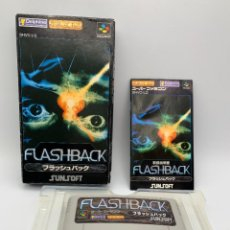 Videojuegos y Consolas: SUPER FAMICOM FLASHBACK SFC COMPLETO NTSC-J JAPONES. Lote 293367113