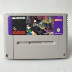 Videojuegos y Consolas: THE ADVENTURES OF BATMAN & ROBIN (1995) SUPER NINTENDO KONAMI (LAS AVENTURAS DE...). Lote 293462968
