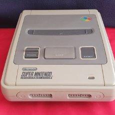 Videojuegos y Consolas: CONSOLA SUPER NINTENDO SIN PROBAR .TAL CUAL COMO SE VE EN FOTOS. Lote 294036538