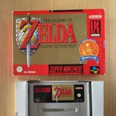 Videojuegos y Consolas: THE LEGEND OF ZELDA A LINK TO THE PAST - PAL ESPAÑA. Lote 294493818