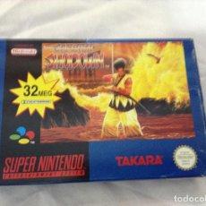 Videojuegos y Consolas: SAMURAI SHADOWN , SÚPER NINTENDO. Lote 294506023