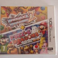 Videojuegos y Consolas: JUEGO NINTENDO 3DS PUZZLE & DRAGONS Z + PUZZLE DRAGONS SUPER MARIO BROS EDITION PRECINTADO. Lote 295277373