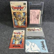 Videojuegos y Consolas: DRAGON QUEST VI MAROBOSHI NO DAICHI JAP NINTENDO SUPER FAMICOM SNES. Lote 295382778