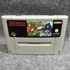 Videojuegos y Consolas: SUPER MARIO WORLD 2 YOSHIS ISLAND SUPER NINTENDO SNES. Lote 295476188