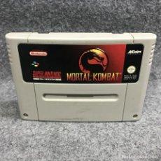 Videojuegos y Consolas: MORTAL KOMBAT SUPER NINTENDO SNES. Lote 295476198