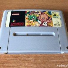 Videojuegos y Consolas: SUPER BC KID GENJIN SUPER NINTENDO SNES PAL COMO NUEVO. Lote 295849888