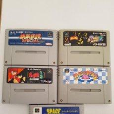 Videojuegos y Consolas: LOTE 5 JUEGOS SUPER FAMICOM NTSC-J. Lote 295859628