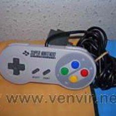 Videojuegos y Consolas: MANDO CONTROL PAD PARA SUPER NINTENDO SNES ORIGINAL. Lote 154467700