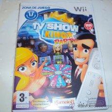 Videojuegos y Consolas: JUEGO DE NINTENDO WII TV SHOW KING PARTY. Lote 31110432