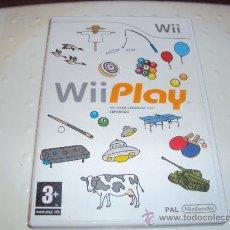 Videojuegos y Consolas: JUEGO DE NINTENDO WII WII PLAY. Lote 130665919