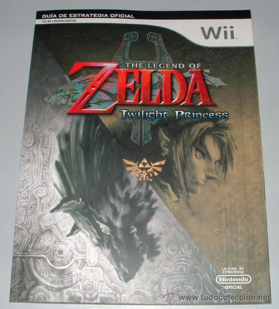 GUIA ESTRATEGIA THE LEGEND OF ZELDA TWILIGHT PRINCESS ESPAÑOLA NINTENDO WII (Juguetes - Videojuegos y Consolas - Nintendo - Wii)