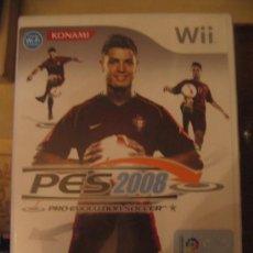 Videojuegos y Consolas: PESS 2008 WII. Lote 32041095