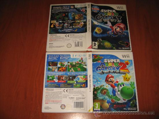 Super Mario Galaxy 1 Y 2 Para Nintendo Wii Pal Sold Through Direct Sale 28438084