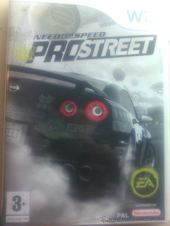 NEED FOR SPEED PROSTREET / JUEGO ORIGINAL PARA NINTENDO WII / (Juguetes - Videojuegos y Consolas - Nintendo - Wii)