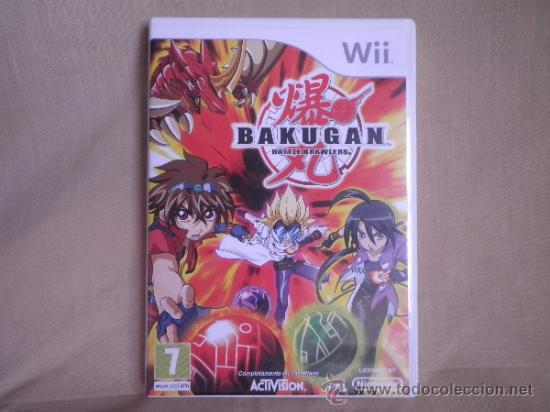WII BAKUGAN BATTLE BRAWLERS (Juguetes - Videojuegos y Consolas - Nintendo - Wii)