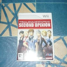 Videojuegos y Consolas: JUEGO WII TRAUMA CENTER SECOND OPINION. Lote 35065128