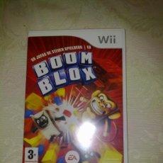 Videojuegos y Consolas: JUEGO WII: BOOM BLOX, DE STEVEN SPIELBERG. Lote 36208050