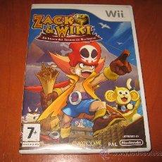 Videojuegos y Consolas: ZACK WIKI EN BUSCA DEL TESORO DE BARBAROS NINTENDO WII PAL ESPAÑA COMPLETO - CULT GAME DIFICIL. Lote 36194733