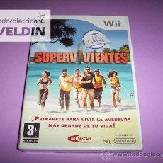 Videojuegos y Consolas: SUPERVIVIENTES NUEVO PRECINTADO PAL ESPAÑA NINTENDO WII. Lote 36787092