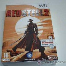 Videogiochi e Consoli: RED STEEL 2 + WII MOTION PLUS. Lote 38864706