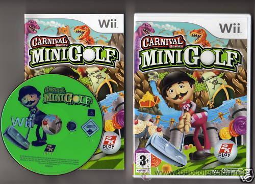 Carnival Games Minigolf Comprar Videojuegos Y Consolas Nintendo