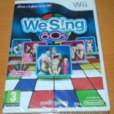 Videojuegos y Consolas: JUEGO DE LA WII: WE SING 80´S (NUEVO Y PRECINTADO). Lote 40862228
