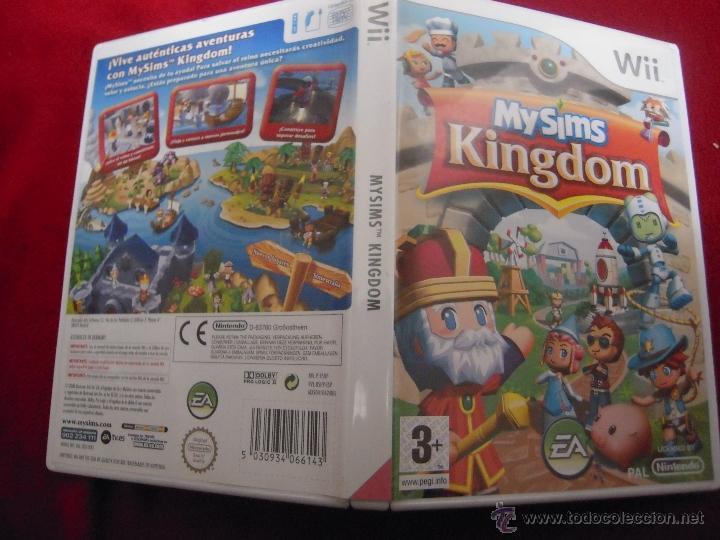 NINTENDO WII - MY SIMS KINHDOM - NO CONTIENE EL MANUAL (Juguetes - Videojuegos y Consolas - Nintendo - Wii)