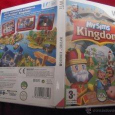 Videojuegos y Consolas: NINTENDO WII - MY SIMS KINHDOM - NO CONTIENE EL MANUAL. Lote 40882892