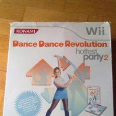 Videojuegos y Consolas: JUEGO NINTENDO WII.DANCE DANCE REVOLUTION HOTTEST PARTY 2.AÑO 2009 DE KONAMI VER FOTOS. Lote 41601875