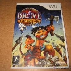 Videojuegos y Consolas: BRAVE A WARRIOR'S TALE WII PAL ESPAÑA COMPLETO SOUTHPEAK. Lote 43105554