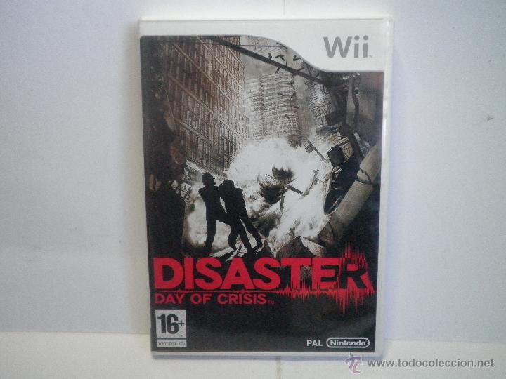 JUEGO NINTENDO WII DISASTER DAY OF CRISIS (Juguetes - Videojuegos y Consolas - Nintendo - Wii)