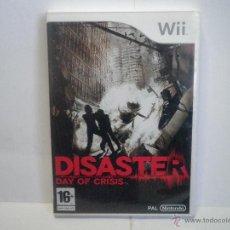 Videojuegos y Consolas: JUEGO NINTENDO WII DISASTER DAY OF CRISIS. Lote 43934074