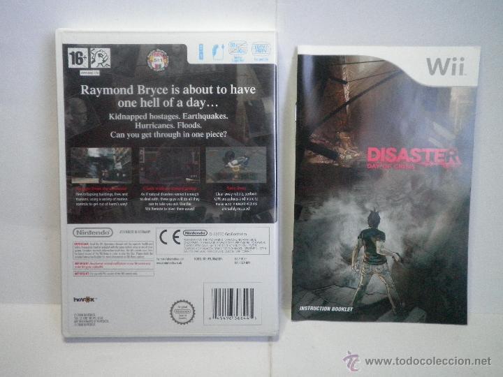Videojuegos y Consolas: JUEGO NINTENDO WII DISASTER DAY OF CRISIS - Foto 2 - 43934074
