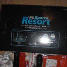 Videojuegos y Consolas: WII NINTENDO + SPORTS RESORT + WII PLAY MOTION + ACCESORIOS. Lote 40803025