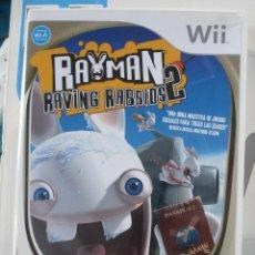 Videojuegos y Consolas: RAYMAN RAVING RABBIDS. Lote 46382840