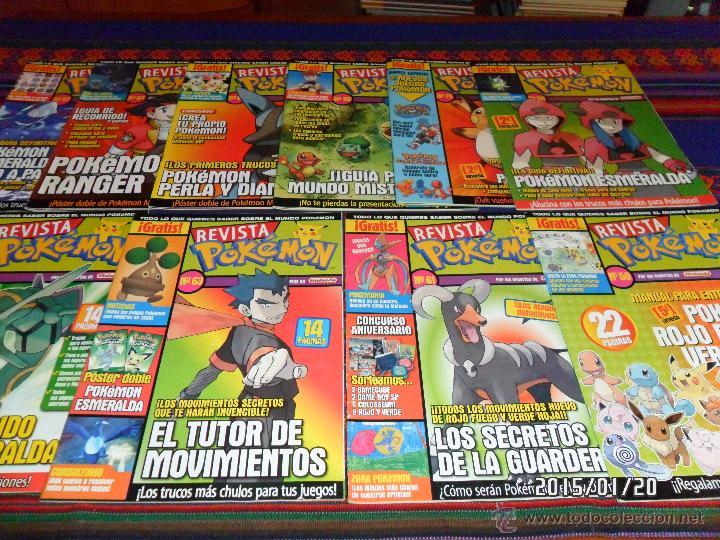 Videojuegos y Consolas: LAS REVISTA POKÉMON DE REGALO. - Foto 2 - 47345189