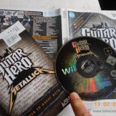 Videojuegos y Consolas: JUEGO WII GUITAR HERO METALLICA SALE LEMMY DE MOTORHEAD NI. Lote 47917685