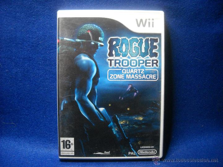 ROGUE TROOPER - NINTENDO WII (Juguetes - Videojuegos y Consolas - Nintendo - Wii)
