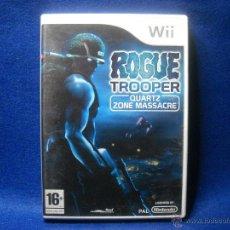 Videojuegos y Consolas: ROGUE TROOPER - NINTENDO WII. Lote 48038856