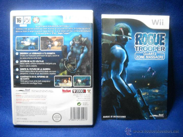 Videojuegos y Consolas: ROGUE TROOPER - NINTENDO WII - Foto 2 - 48038856