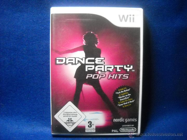 Videojuegos y Consolas: DANCE PARTY POP HITS - NINTENDO WII - Foto 1 - 48038922