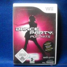Videojuegos y Consolas: DANCE PARTY POP HITS - NINTENDO WII. Lote 48038922