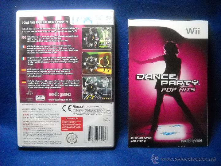 Videojuegos y Consolas: DANCE PARTY POP HITS - NINTENDO WII - Foto 2 - 48038922