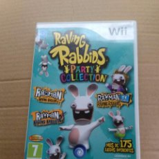 Videojuegos y Consolas: RAVING RABBIDS PARTY COLLECTION. WII.. Lote 49324949