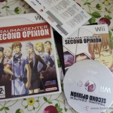 Videojuegos y Consolas: TRAUMA CENTER SECOND OPINION NINTENDO WII PAL UK TEXTOS DE PANTALLA EN CASTELLANO. Lote 49339291
